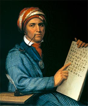 Sequoyah, creator of the Cherokee alphabet